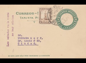 1925: Post card: Deutsche Schule Ciudad