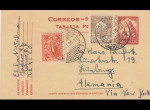1936: Mexico to Lünburg