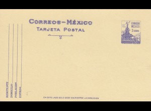 4x post cards Mexico, unused