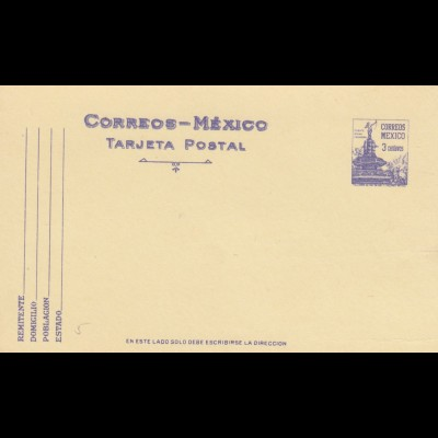 4x post cards Mexico, unused
