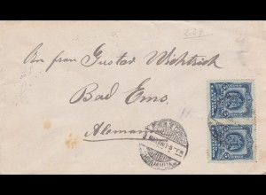 1901: letter to Bad Ems