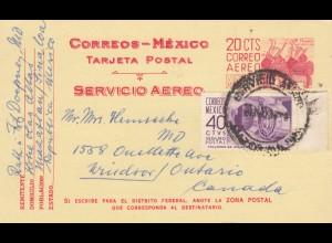2x post cards Mazatlan/Sinaloa to Ontario/Canada/Bad Ems