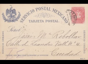 1897: post card to Ciudad
