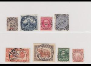 8x stamps Liberia