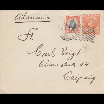 Letter from Santiago to Leipzig