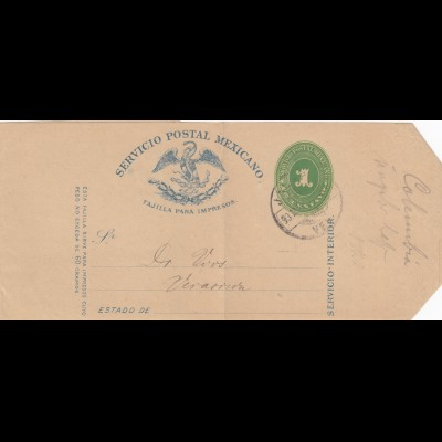 4x wrapper about 1913