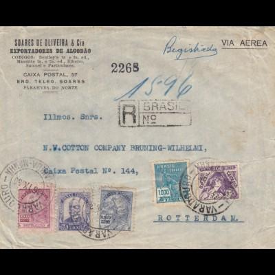 1936: registered Parahyba to Berlin