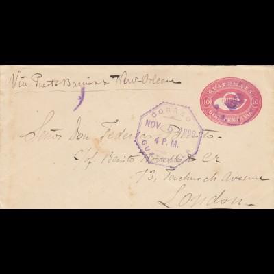 1898: Guatemala to London
