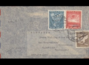 3x covers about 1950 to GErmany