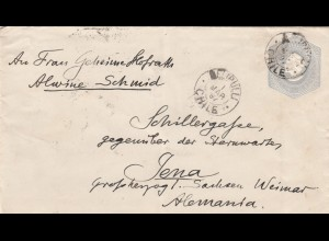 1897: 2x covers Valparaiso/Elipulli to Jena