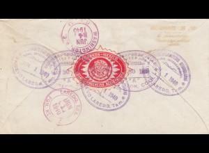 1940: Torreon ot Washington, registered