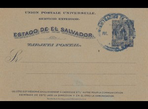 Post card El Salvador