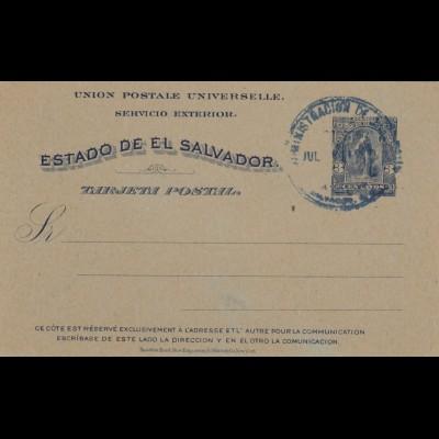 Post card El Salvador
