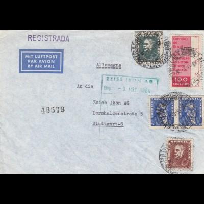 1964: air mail to Stuttgart