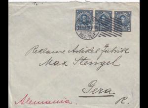 1912: letter Santiago to Gera
