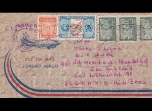 1949: air mail Guatemala to Schwarzheide-Wadelhof