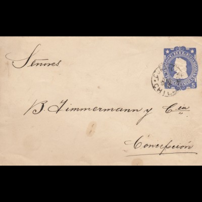 1905: letter from Chile