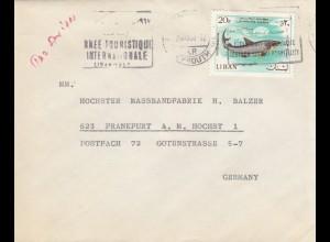 1957: Beyrouth to Frankfurt