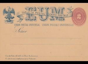 Mexico: Privat Ganzsache, privat post card, unused