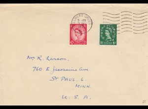 letter 1952: Palmers Green to St. Paul, Minn, USA