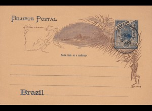 post card Brazil unused