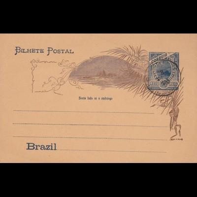 post card Brazil unused