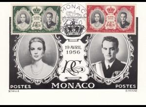 1956: post card Maximumkarte