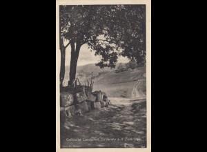 Wohlfahrts-Postkarte 1917 Galizien Feld-Post