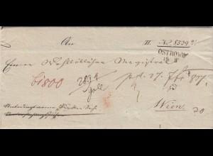 Brief aus Ostrowo 1819 nach Wien
