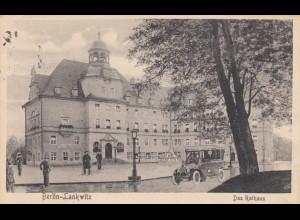 Ansichtskarte 1925 Berlin Lankwitz nach Meran, Nachporto