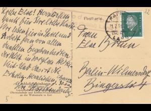 Ansichtskarte 1931 Schönhagen Brodersby nach Berlin