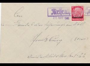 Lothringen Meisenthal 1941 nach Straßburg