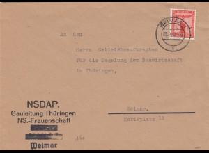 NSDAP Gauleitung Thüringen, NS-Frauenschaft Weimar 1942