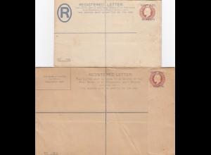 Registered Letter, unused, Piastre, Paras