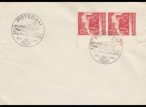 Blanko Sonderstempelbeleg 1941: Potsdam: Tag der Briefmarke