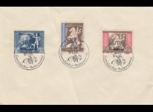 Blanko Sonderstempelbeleg 1942: Wien: Europäischer Postkongress 19.10.1942