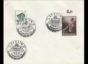 Blanko Sonderstempelbeleg 1939: Berlin: Staatsbesuch d. Prinzregenten Jugoslav.