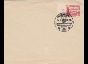 Blanko Sonderstempelbeleg 1938: Oldenbrug: Postwertzeichen-Ausstellung