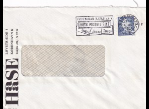 "Denmark: Kobenhavn Perfin ""HAC"" 1957"