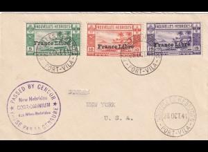 Neue Habriden Condominum Port Vila to USA