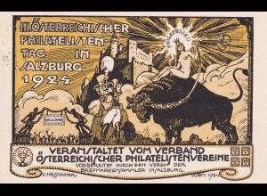 Philatelistentag Salzburg 1924