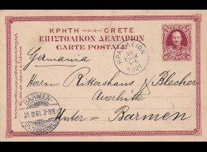Kreta: Heraklion/Candia 1901 to Barmen