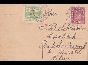Nieder Suchau, 1919 nach Deutsch Jassnik, Mähren
