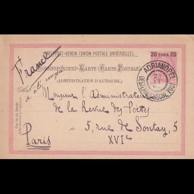 Adrianopel 1904 nach Paris