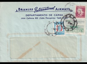 letter Lima, Öeru 1950, Braniff International Airways