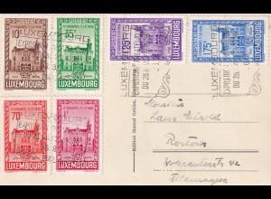 Ansichtskarte Luxemburg, Philatelistische Ausstellung 1936