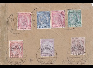 cover 1913 Shkoder, adress revers