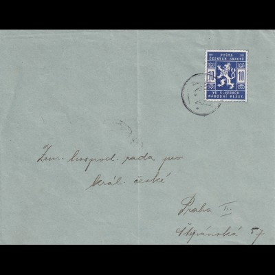 cover 1918 to Prag, Pfadfinder, Boy scout