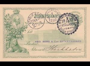 post card Stockholm Soder 1897