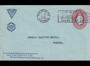 Melbourne/Victoria 1930 to Geelong, Neal's Motors PTY. LTD